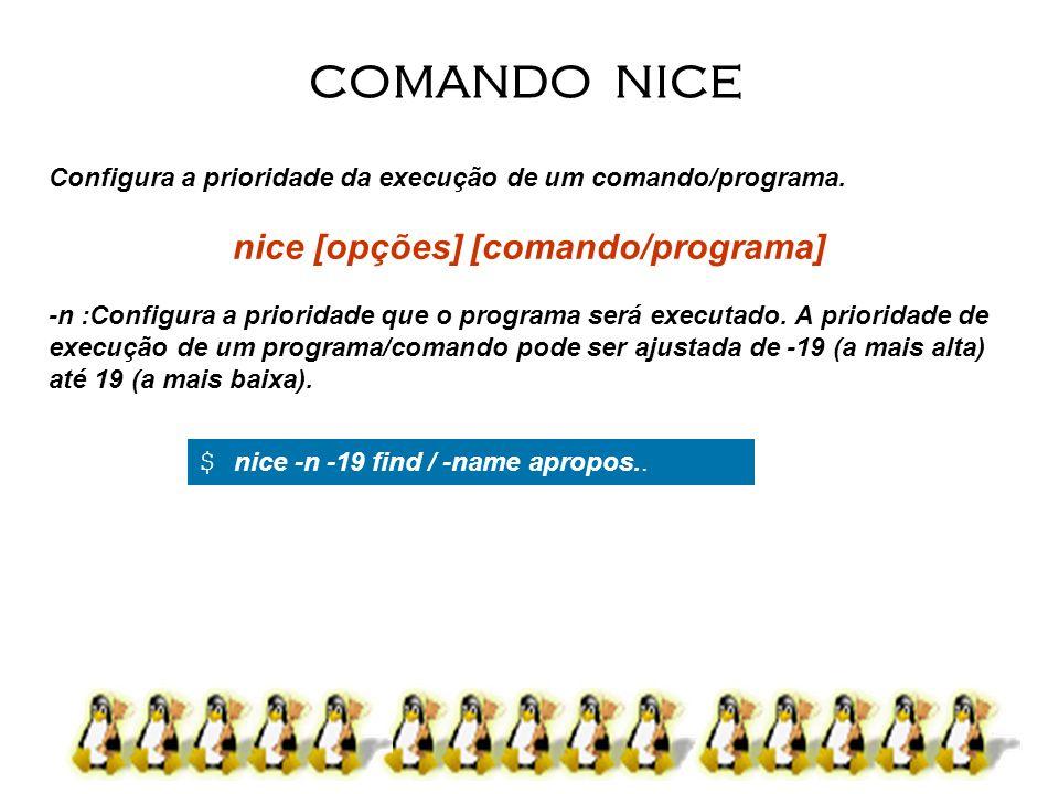 nice [opções] [comando/programa]